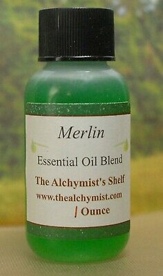 Merlin Essential Oil 1 Oz Wiccan Craft Pagan Altar Ritual Spell Special