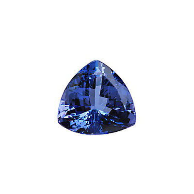 Trillion Cut Triangle Shape Blue AA Tanzanite 7mm 1.50 Carats Loose Gem Stone