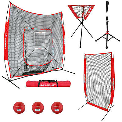 Portable All In One Bundle Baseball Net/Softball Net/Cricket Net
