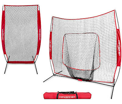 PowerNet Portable I Screen Net Bundle - Portable Baseball Net / Softall Net / Cr