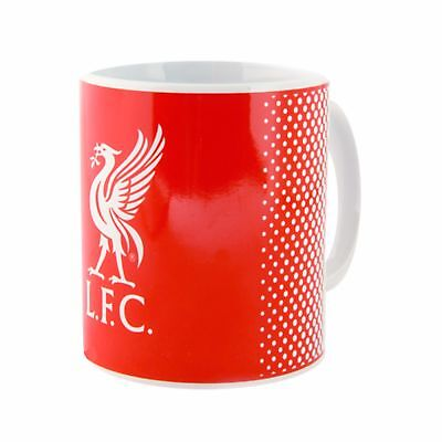 Liverpool FC Official Fade Crest Design Ceramic Mug