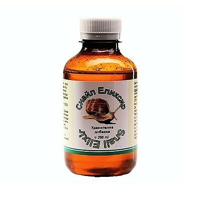 Snail elixir - nutritional supplement with extract of snail Mucin, 200 ml