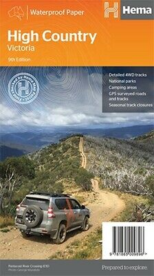 Hema Maps High Country Victoria 4WD Explorer Map 9th ED Waterproof Paper