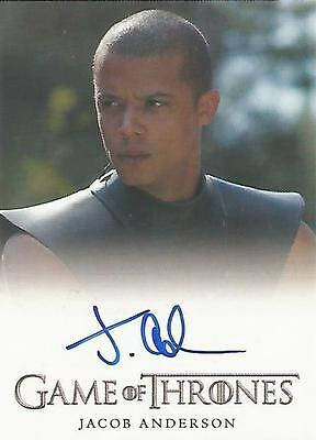 "Game of Thrones Season 4 - Jacob Anderson ""Grey Worm"" Autograph Card"