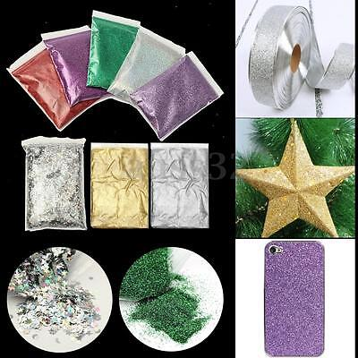 Red/Purple/Green/Silver/Lavender Glitter - Jewelry Glass Art Cosmetic Face Paint