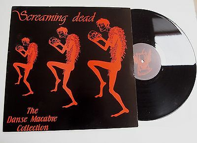 "SCREAMING DEAD - DANSE MACABRE EP 12"" VINYL NM/EX Rare 1984 Goth UK 1st Press"
