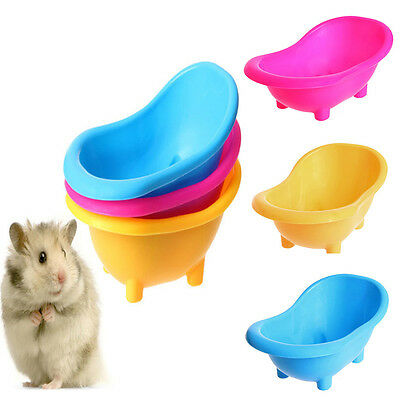 Small Animals Hamster Rat Mice Mouse Bathtub Toilet Pet Supplies Accessory