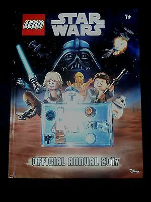 Lego Star Wars 2017 Annual with Figures