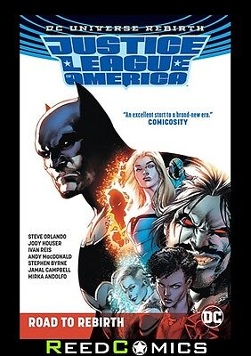 JUSTICE LEAGUE OF AMERICA THE ROAD TO REBIRTH GRAPHIC NOVEL New Paperback