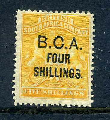 British Central Africa Nyasaland 1892 4 shillings on 5 shillings sg 19 fine MH