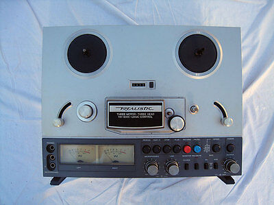 vintage Relistic reel 2 reel tape deck 3 Head