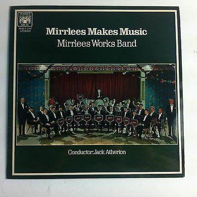 Mirrlees Works Band - Mirrlees Makes Music LP, Brass Band, Marble Arch 1970
