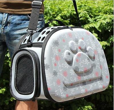 Portable Small  Cat Dog Pet Sided Kennel Carrier Travel Tote Shoulder Bag Cage
