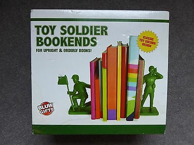 NEW Blue Gifts Toy Soldier Bookends