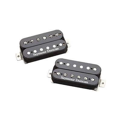 Seymour Duncan Pearly Gates Humbucker Set for Neck and Bridge (Black)