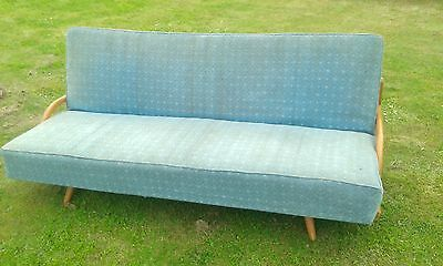 1960s ATOMIC MID-CENTURY DESIGN SOFA-BED ENGLISH 1960s, BOSCH! NOW HALF PRICE!