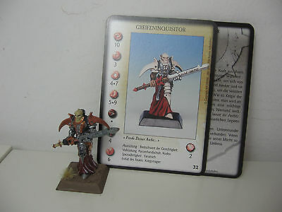Rackham Confrontation Greifeninquisitor Ritter - top bemalt painted Metall