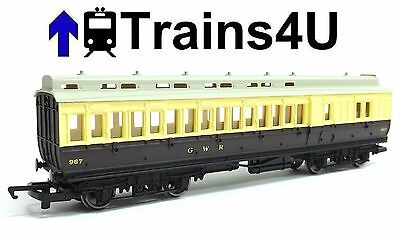 Hornby GWR Clerestory Brake Coach No.967 (OO Scale) Unboxed New