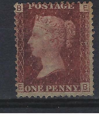 SG 44 1d Lake Red Plate 86 mounted mint Cat Value £65