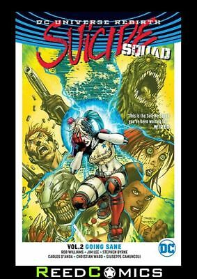 SUICIDE SQUAD VOLUME 2 GOING SANE GRAPHIC NOVEL Collects (2016) #5-8 + Specials