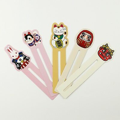 Pack of 30 cute Japanese bookmarks #B0009