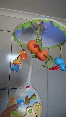 Fisher Price Brand New Cot Musical Mobile / Lamp!! Brand New!!!