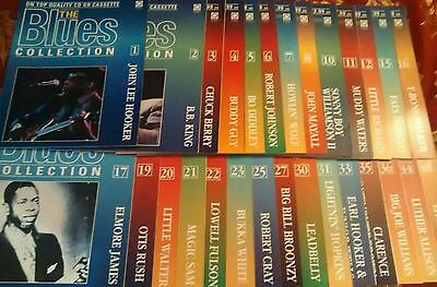 Job lot of THE BLUES COLLECTION magazines 28 issues