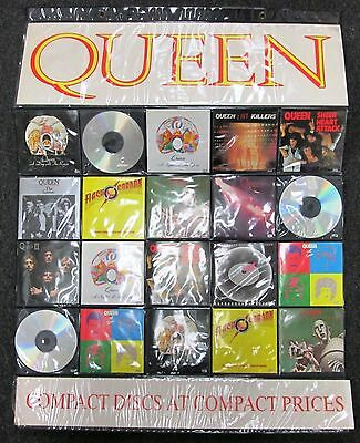 Queen Official Promo Cd Store Display Made In England Rare