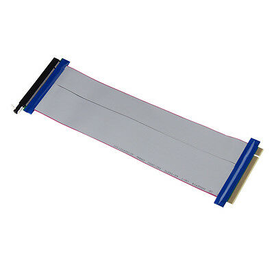 PCI-E Express 16X to 16x Male to Female Riser Extender Card Ribbon Cable UK