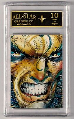 1992  WOLVERINE PROMO Graded 10 MINT - Comic Images From Then 'Til Now Series 2