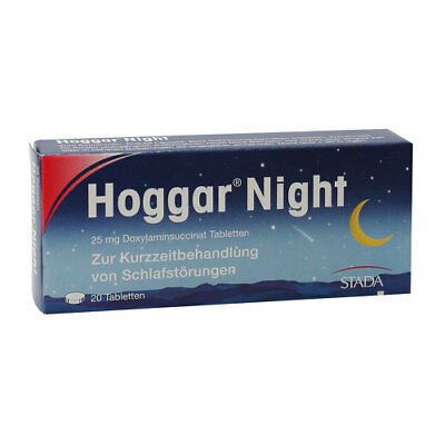 HOGGAR Night Tabletten 20St PZN 04402066