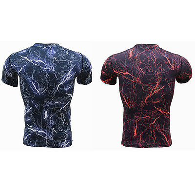 Men Camo New Fitness Tights Compression Quick Dry T-Shirts Base Layer