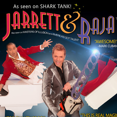 2 Tickets To Jarret & Raja - Magician Vs. Maestro!