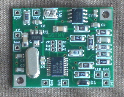 CTCSS Tone Generator Encoder (built & tested)