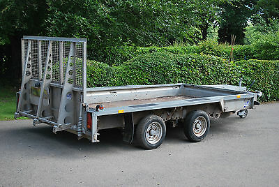 Ifor Williams GX126  12ft x 6ft  Plant Trailer (3500kg) - Fully Serviced