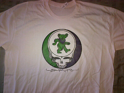 Dancing Bears STEAL YOUR FACE Grateful Dead T-SHIRT Weir Dead & Co. Jerry Garcia