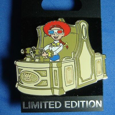 Jessie Toy Story Midway Mania Attraction Vehicle WDI Disney Pin LE 300 OC RARE