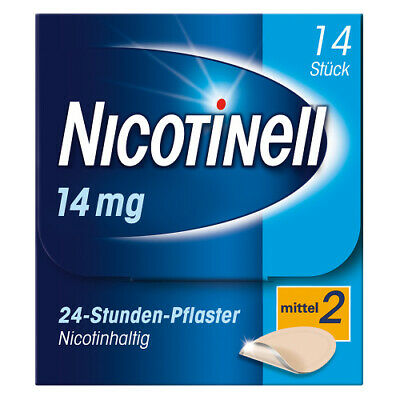 NICOTINELL 35 mg 24 Stunden 14St PZN 03764548