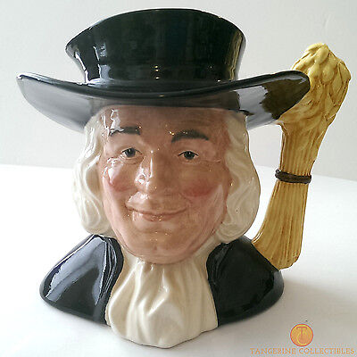 Royal Doulton D6738 MR QUAKER Large Size Character Jug Limited Edition of 3500