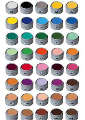 Grimas Professional Water Based Face Paint Make up 15ml Fancy Dress Stage