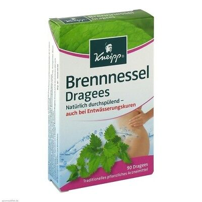 KNEIPP Brennessel Dragees 90St PZN 01833742