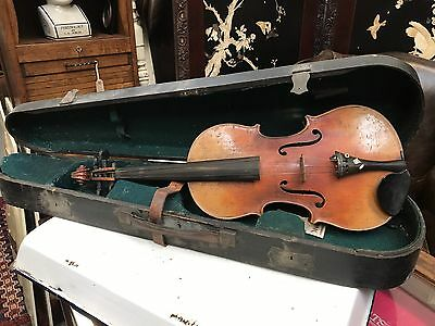 Cased Antique Stradivarius Copy Violin. Open To Offers.