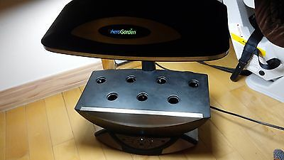 AeroGarden Pro 100 Hydroponic Indoor Growing Pod System with Dual bulbs