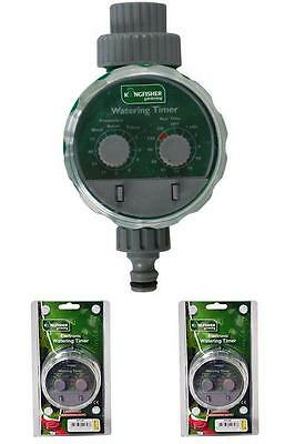 Water Garden Sprinkler Timer Automatic Watering Control System Battery Operated