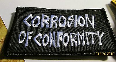 Corrosion Of Conformity Collectable Rare Vintage Patch Embroided 2015