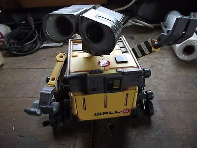 Disney Pixar Large Talking Moving Light Up Wall-E Toy By Thinkway Toys