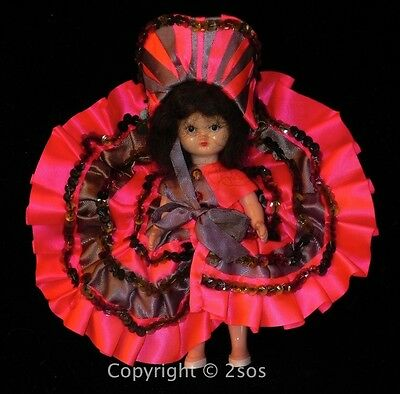 """Dancer Can Can * HOLLYWOOD NANCY ANN STORYBOOK 5"""" DOLL"""