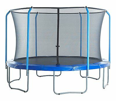 Trampoline Replacement Only Net for Top Ring Fits 13' Round Frame 6 Curved Poles
