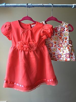 Baby Girl Clothes 3-6 Months Blouse 6-9 Dress Bundle F&F Cherokee