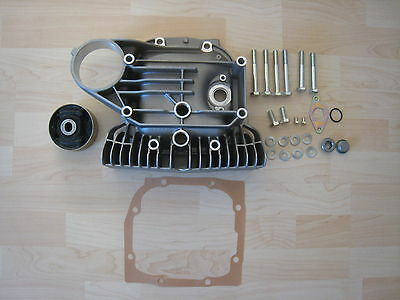 BMW M3 E30 Finned Diff Cover for better Oil Temp (complete Kit)